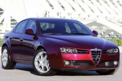 Alfa Romeo 159 sedana foto attēls 18