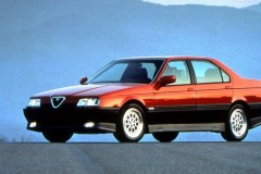 Alfa Romeo 164 sedana foto attēls 14