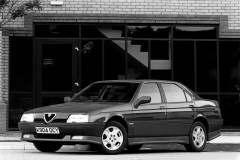 Alfa Romeo 164 sedana foto attēls 7