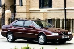 Alfa Romeo 164 sedana foto attēls 6