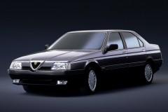 Alfa Romeo 164 sedana foto attēls 3