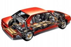 Alfa Romeo 164 sedana foto attēls 2