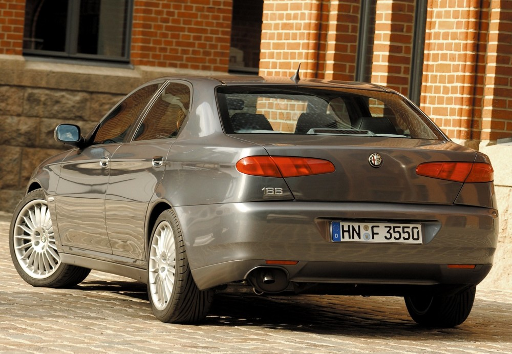 Average Cost To Paint A Car >> Alfa Romeo 166 Sedan 2003 - 2007 reviews, technical data, prices