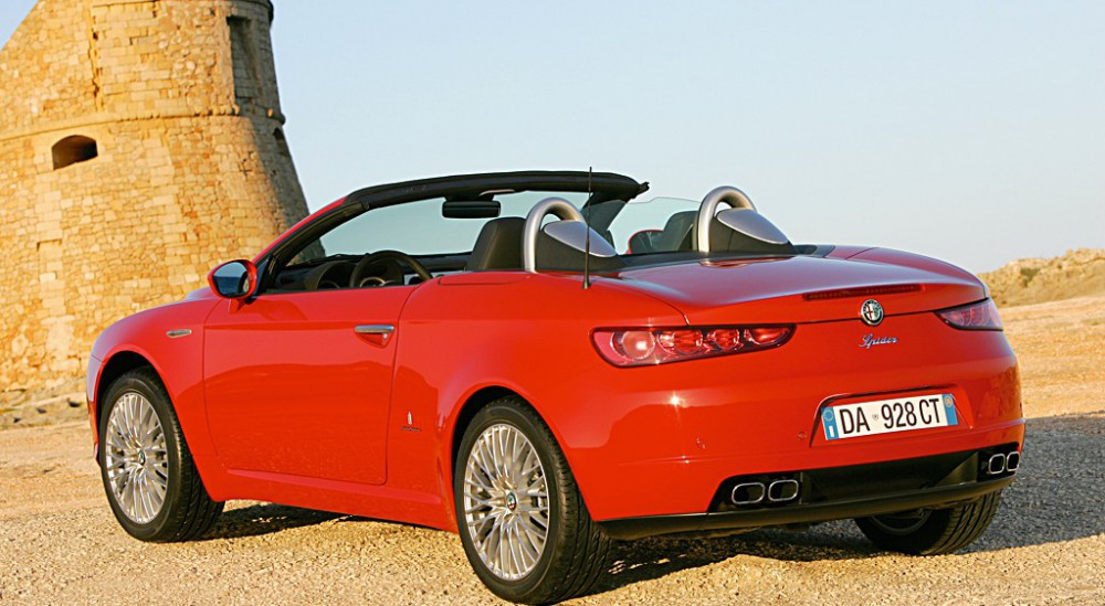 Alfa Romeo Spider Cabrio 2006 2008 Technical Data Prices