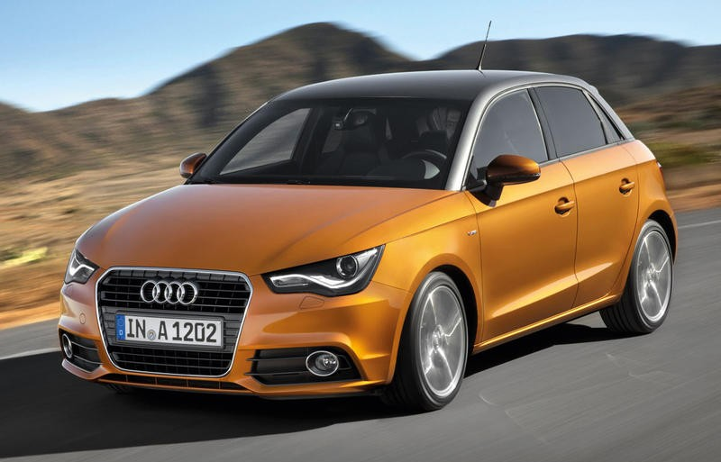Audi A1 2012 foto attēls