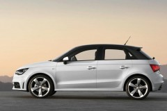 Audi A1 hečbeka foto attēls 3