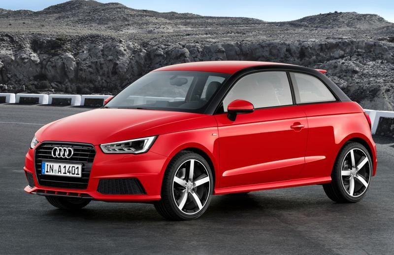 Audi A1 2014 foto attēls