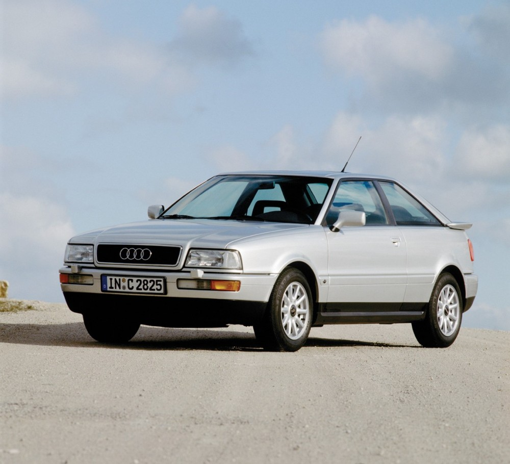 Audi Coupe 1991 foto attēls