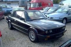 BMW 3 sērijas E30 kabrioleta foto attēls 17