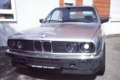 BMW 3 sērijas E30 kabrioleta foto attēls 19