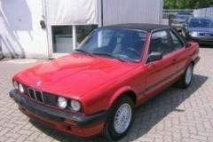 BMW 3 sērijas E30 kabrioleta foto attēls 20