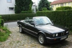 BMW 3 sērijas E30 kabrioleta foto attēls 7