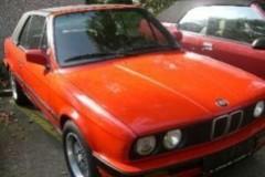 BMW 3 sērijas E30 kabrioleta foto attēls 6