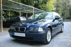 BMW 3 sērijas E36 hečbeka foto attēls 1