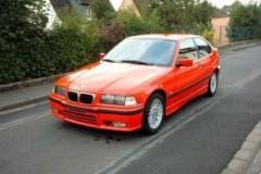 BMW 3 sērijas E36 hečbeka foto attēls 17