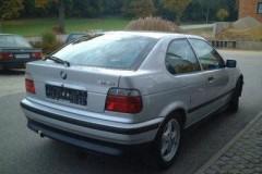 BMW 3 sērijas E36 hečbeka foto attēls 8