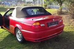 BMW 3 sērijas E46 kabrioleta foto attēls 17