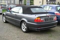 BMW 3 sērijas E46 kabrioleta foto attēls 2