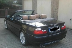 BMW 3 sērijas E46 kabrioleta foto attēls 3