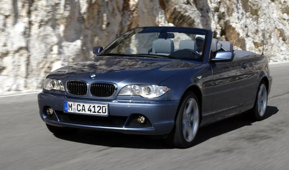 BMW 3 series E46 Cabrio 2003 - 2007 reviews, technical data