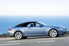 BMW 6 sērijas kabrioleta foto attēls 14
