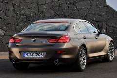 BMW 6 sērijas Gran Coupe, 4 durvis kupejas foto attēls 9