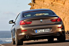 BMW 6 sērijas Gran Coupe, 4 durvis kupejas foto attēls 17