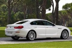 BMW 6 sērijas Gran Coupe, 4 durvis kupejas foto attēls 12