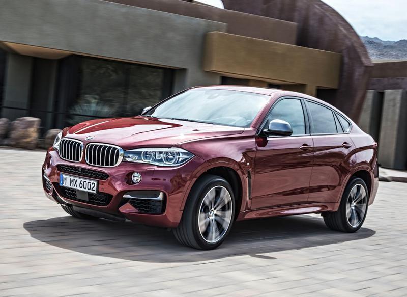 BMW X6 2014 foto attēls