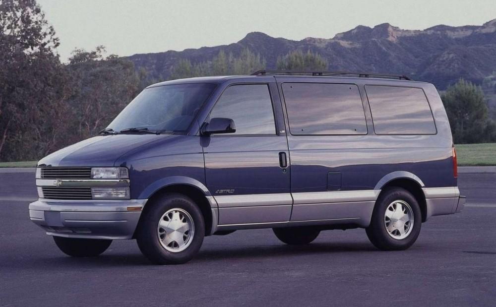 Chevrolet Astro 1995 foto attēls