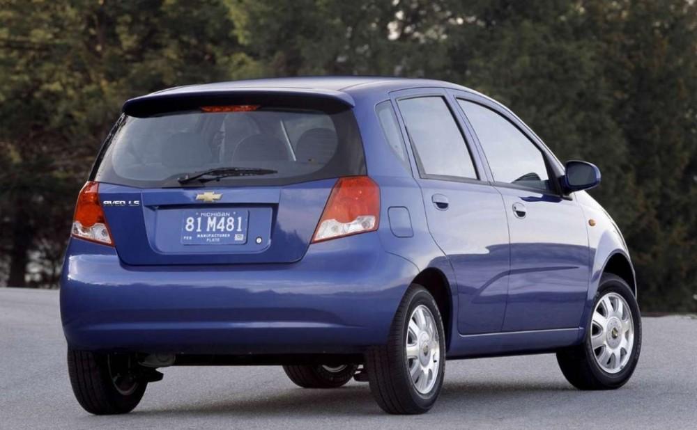 Chevrolet Aveo Hatchback 2003 2008 Opiniones Datos Tcnicos Precios