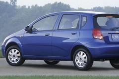 Chevrolet Aveo hatchback photo image 2
