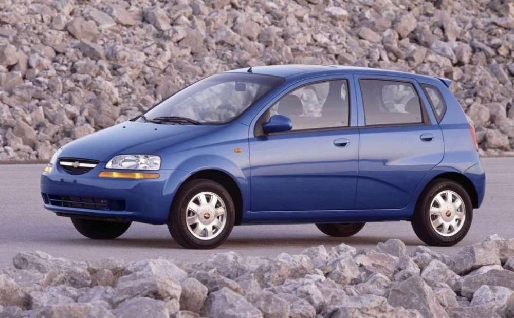 Chevrolet Aveo Hatchback 2003 2008 Reviews Technical Data Prices
