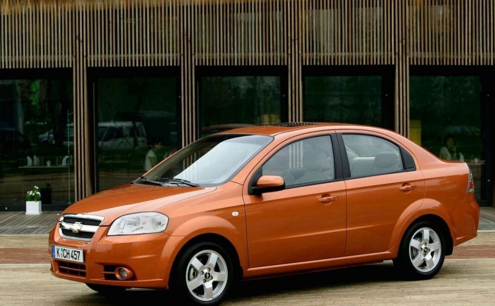 Chevrolet Aveo Sedan 2006 2008 Reviews Technical Data Prices