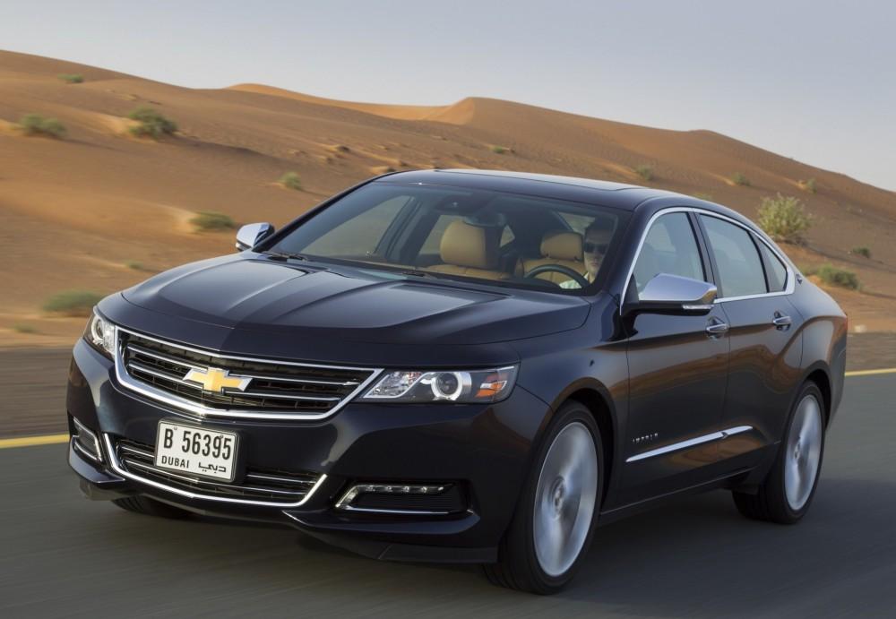 Chevrolet Impala Sedan 2013 Technical Data Prices