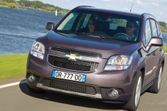 Chevrolet Orlando minivan photo image 4