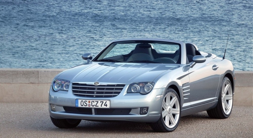 chrysler crossfire cabrio 2004 2008 technical data prices. Black Bedroom Furniture Sets. Home Design Ideas