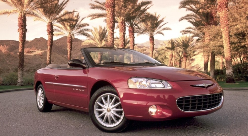 chrysler sebring cabrio 2001 2003 reviews technical data prices. Black Bedroom Furniture Sets. Home Design Ideas