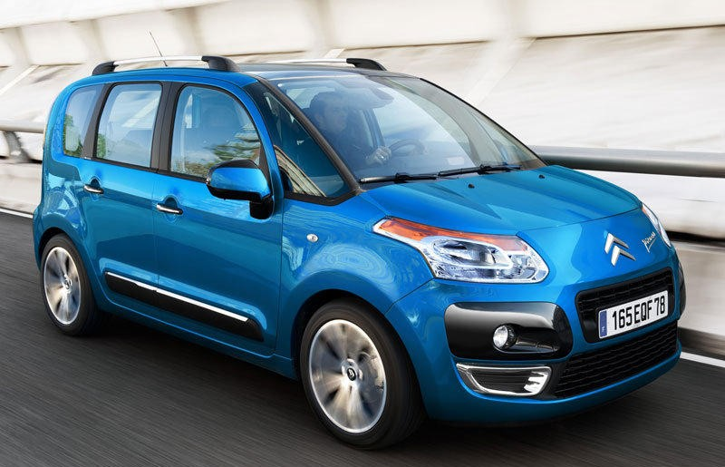 citroen c3 picasso minivan mpv 2013 technical data prices. Black Bedroom Furniture Sets. Home Design Ideas