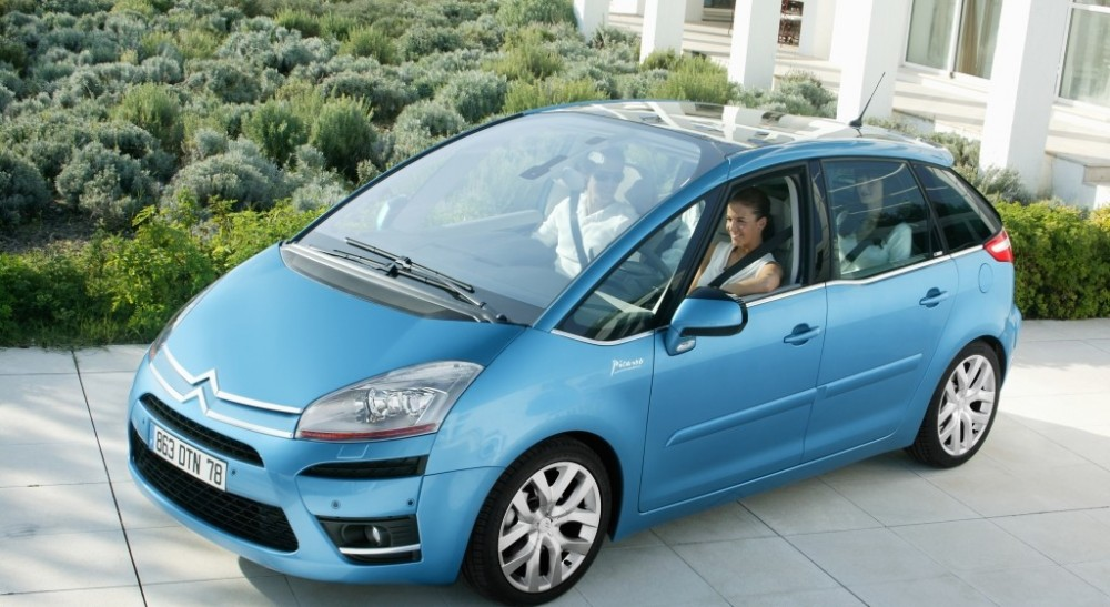 citroen c4 picasso minivan mpv 2007 2010 reviews. Black Bedroom Furniture Sets. Home Design Ideas