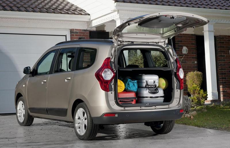 Dacia lodgy reviews reviews technical data prices dacia lodgy minivan photo image 5 publicscrutiny Choice Image