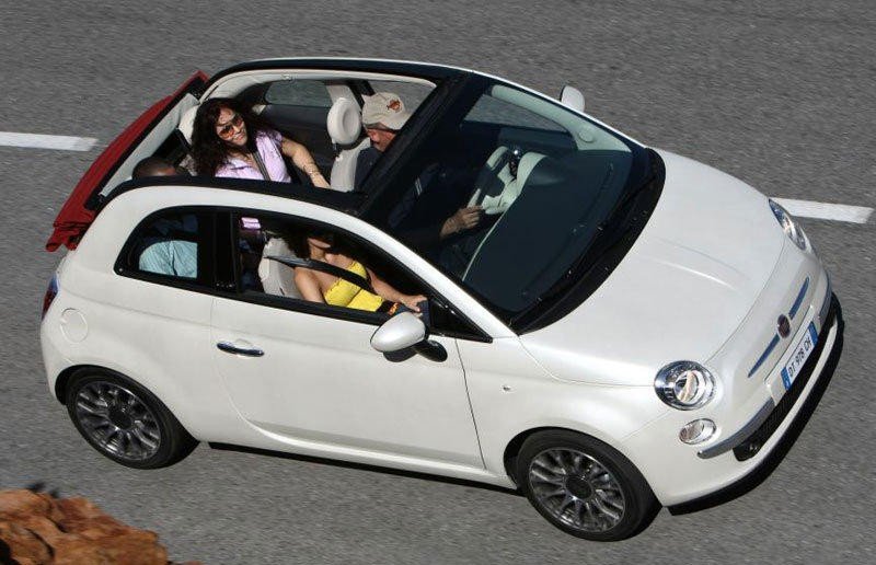 Amato Fiat 500 Cabrio 2010 - technical data, prices CO23