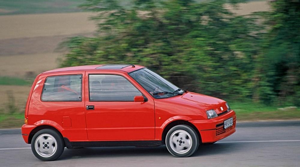 Fiat Cinquecento 1992 foto attēls