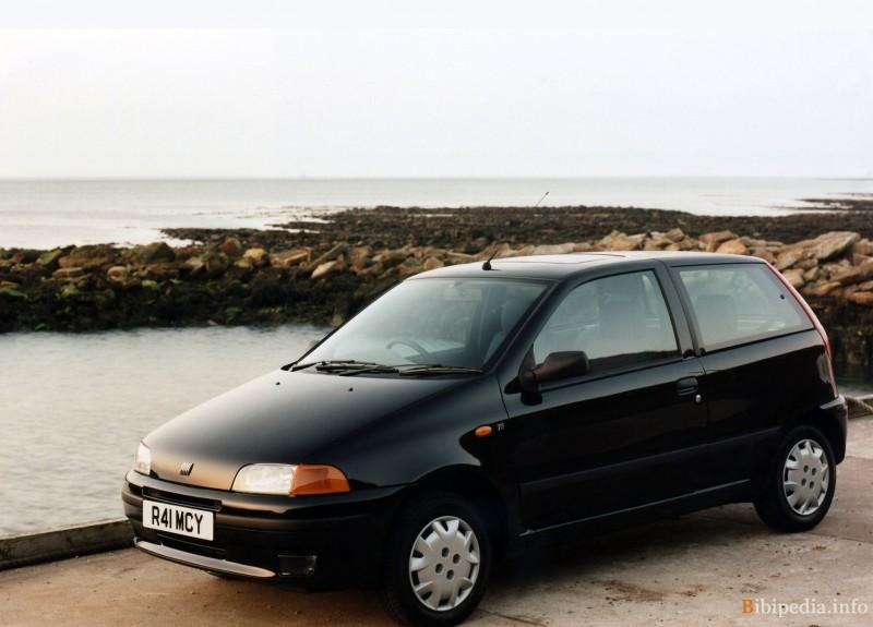 Fiat punto 3 puerta hatchback 1999 2003 opiniones datos for Capacidad baul fiat punto