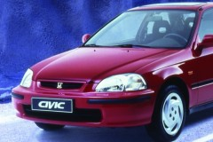 Honda Civic 3 durvis hečbeka foto attēls 1
