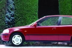Honda Civic 3 durvis hečbeka foto attēls 5