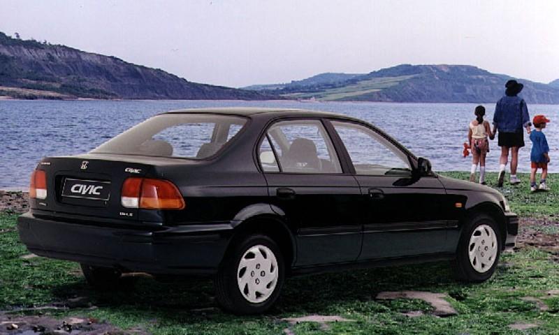 1996 honda civic ex sedan manual