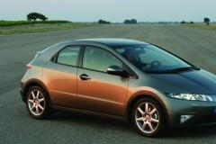 Honda Civic hečbeka foto attēls 4