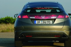 Honda Civic hečbeka foto attēls 2