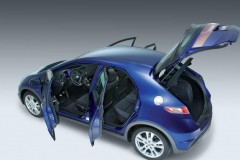 Honda Civic hečbeka foto attēls 1